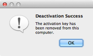 [Deactivation Success]