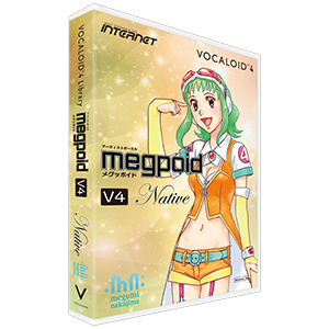 VOCALOID4 ライブラリ Megpoid V4 Native