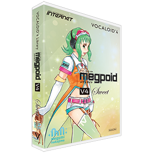 VOCALOID4 Library Megpoid Sweet