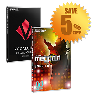 Megpoid English Starter Pack for Cubase