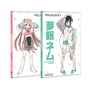 VOCALOID4 Library nemurion set