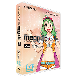 VOCALOID4 ライブラリ Megpoid V4 Power