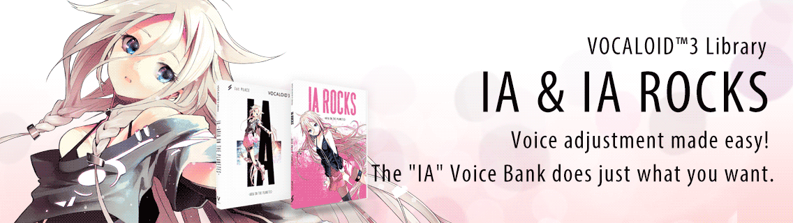 Voice adjustment made easy! The IA Voice Bank does just what you want.