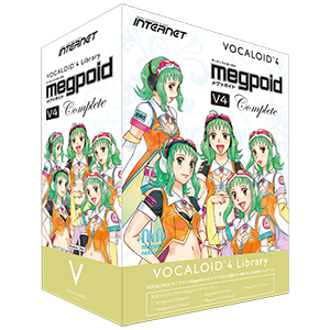 VOCALOID4 Library Megpoid V4 Series
