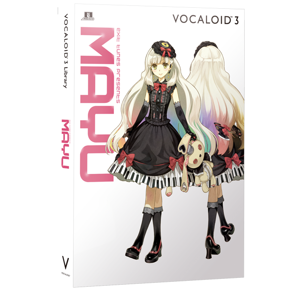VOCALOID3 Library MAYU | download product | VOCALOID SHOP