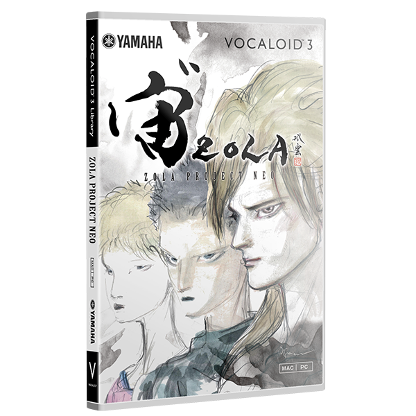 VOCALOID™3 Library ZOLA PROJECT