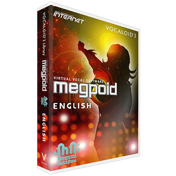 VOCALOID3 Library Megpoid English | download product