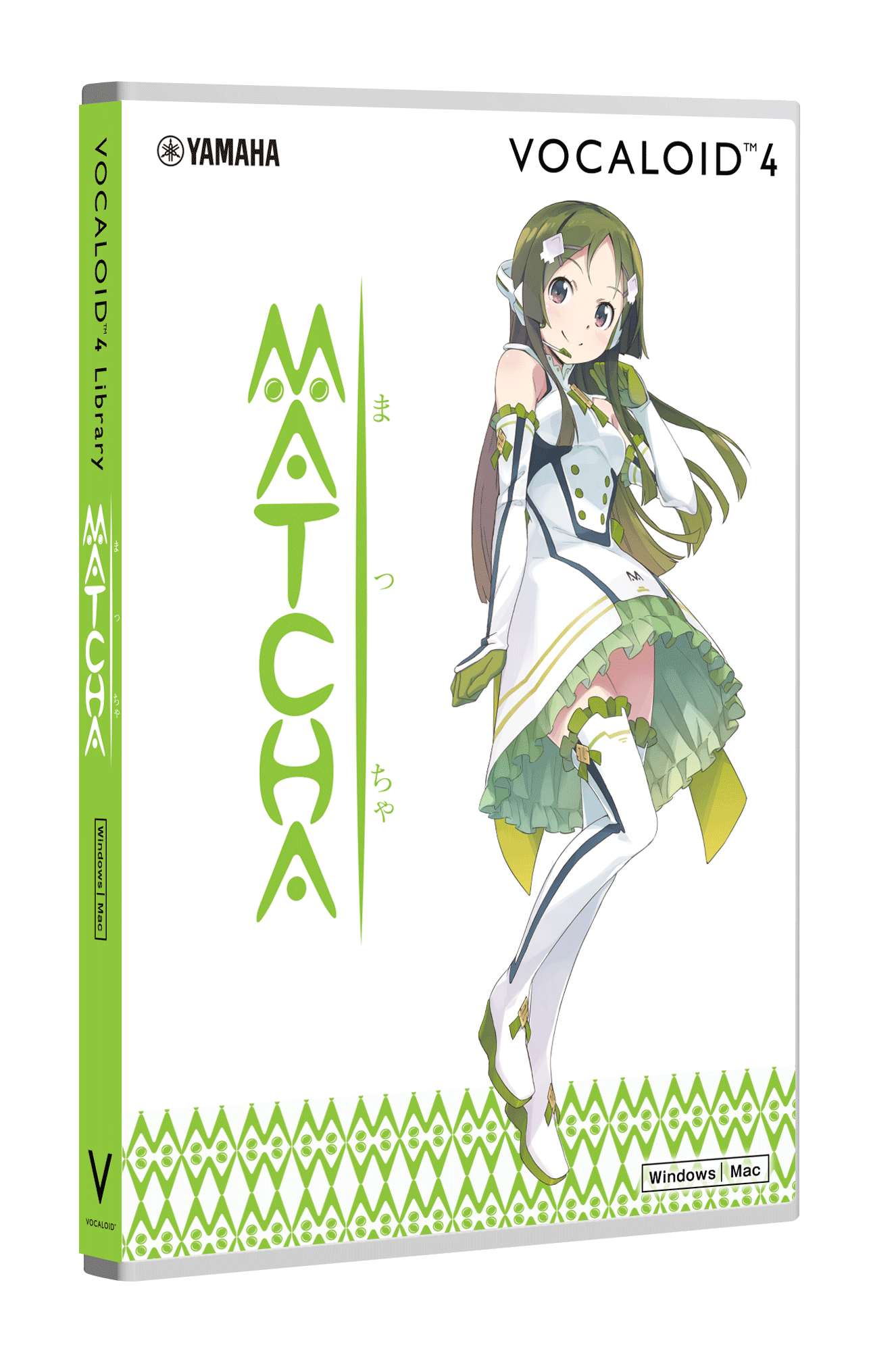 VOCALOID4 Library MATCHA | download product | VOCALOID SHOP