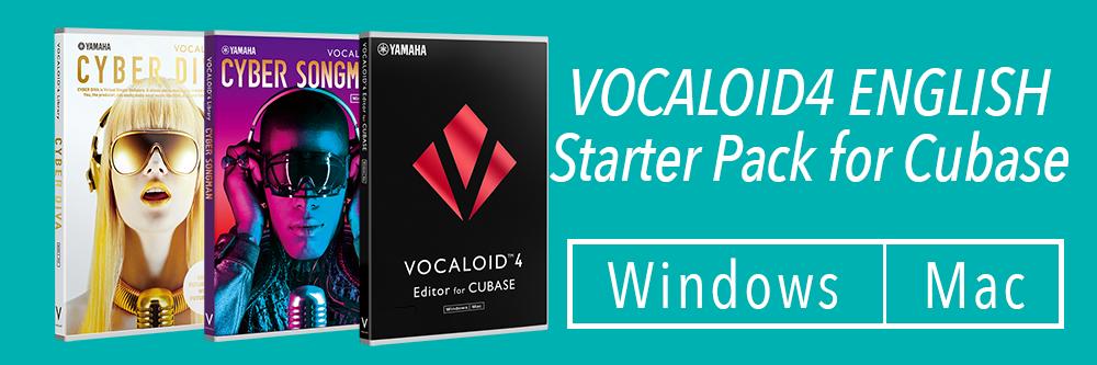 VOCALOID4 Editor for Cubase