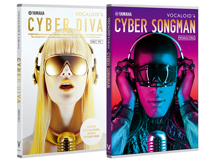 VOCALOID4 Library CYBER DIVA and VOCALOID4 Library CYBER SONGMAN