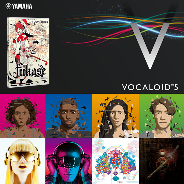 VOCALOID5 PREMIUM + Fukase | download product | VOCALOID SHOP
