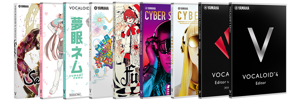 VOCALOID Downloadable Products