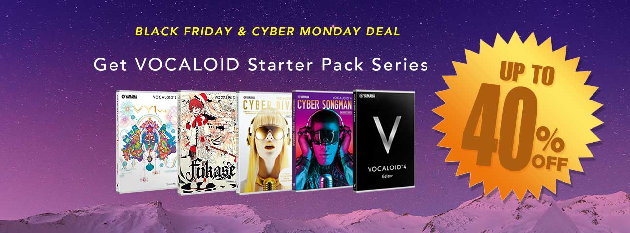 VOCALOID SHOP CYBER MONDAY / BLACK FRIDAY SALE 2017