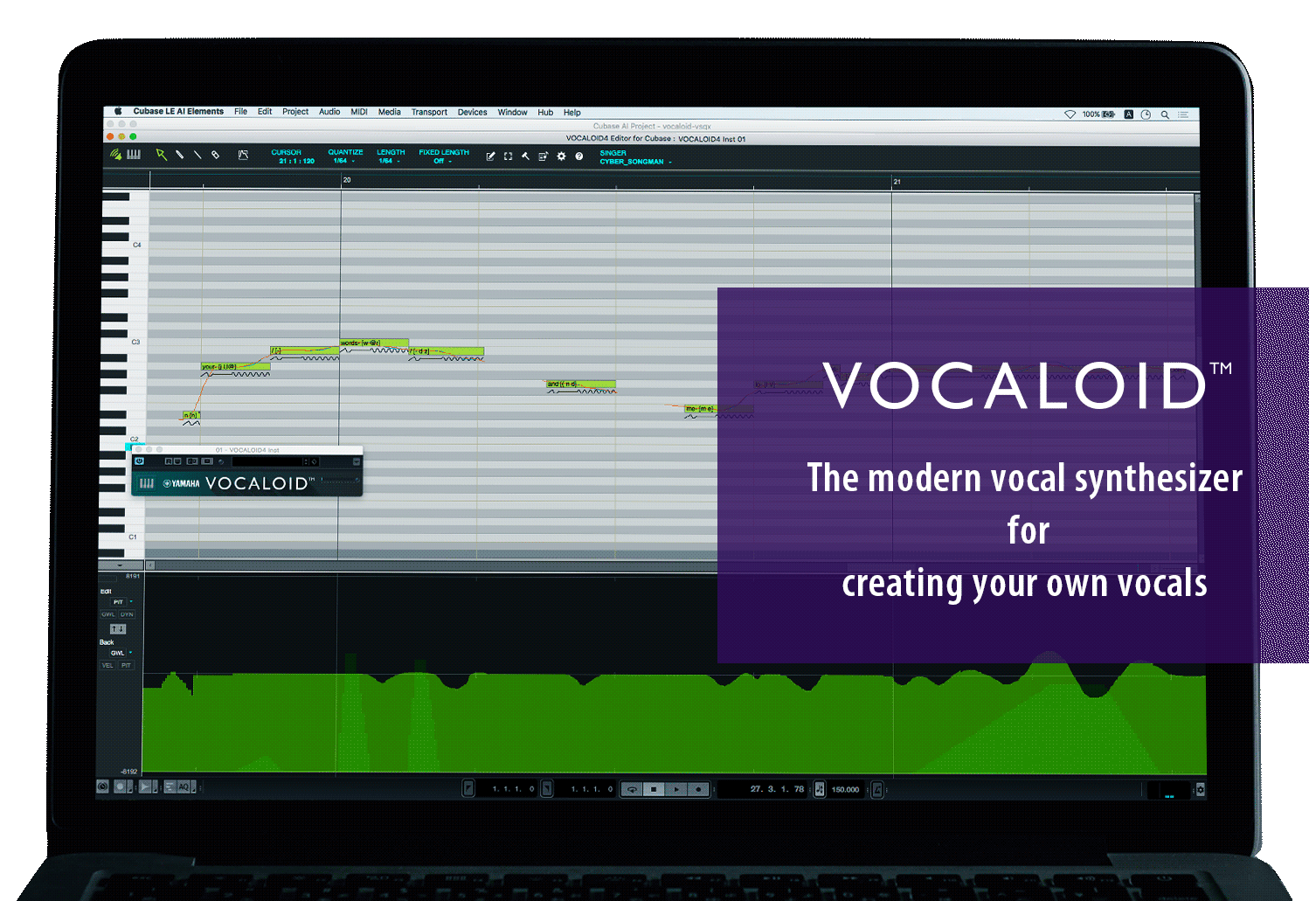 The Modern Vocal Synthesizer For Creating Your Own Vocals