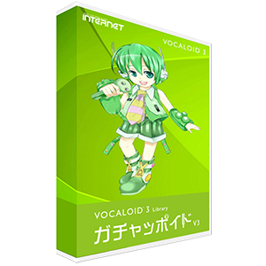 VOCALOID3 Library Gachapoid V3