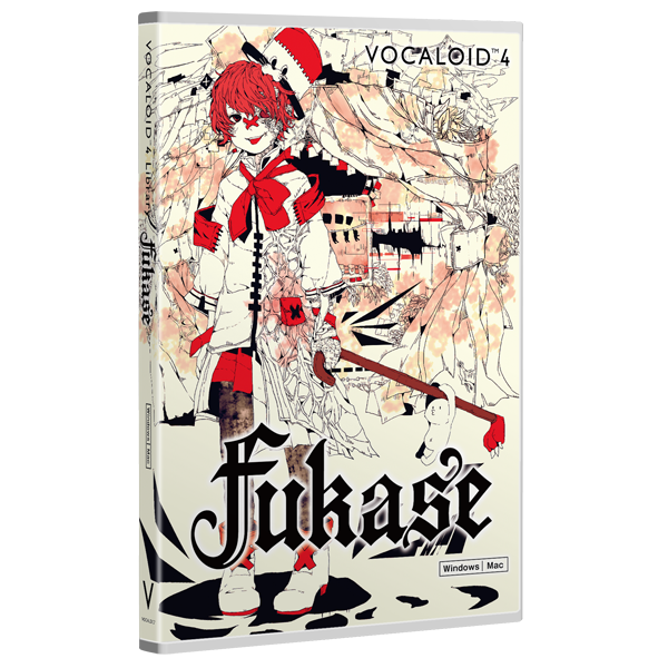 VOCALOID4 Library Fukase | download product | VOCALOID SHOP