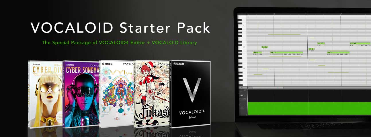 VOCALOID4 ENGLISH Starter Pack Series